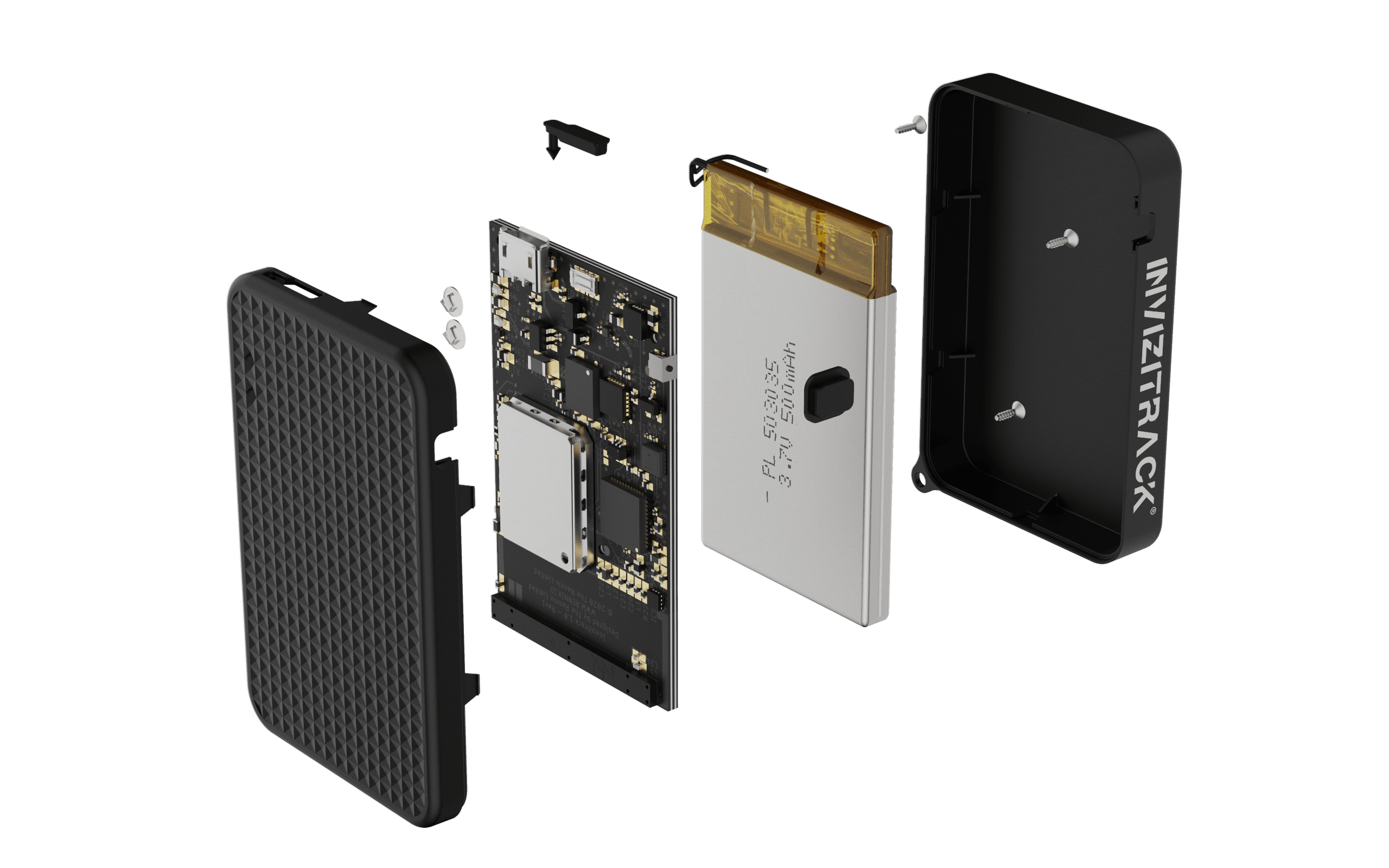 Invizitrack Exploded View